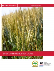 Cover of 2013 Small Grain Production Guide