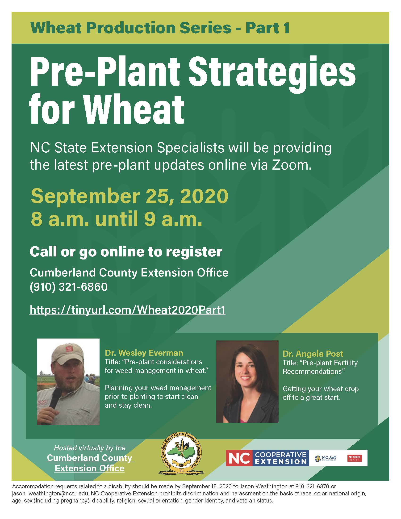 Pre-Plant Strategies for Wheat